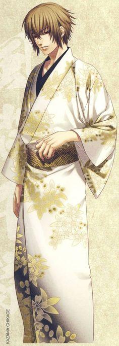 Kazama Chikage | Hakuouki #game #otomegame #illustration