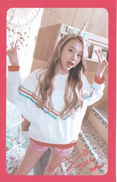 Chaeyoung - What Is Love? Nayeon, Kpop Girl Groups, Korean Girl Groups, Kpop Girls, Extended Play, Twice What Is Love, Rapper, Baby Cubs, Chaeyoung Twice