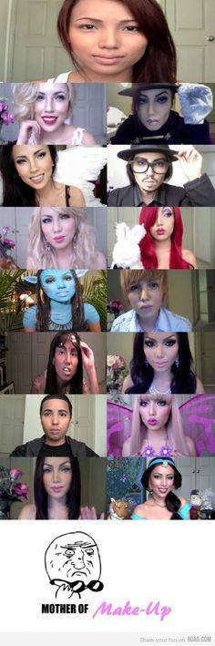 Woah cool make-up