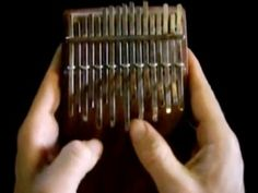 The kalimba is an African musical instrument, a type of plucked idiophone (lamellophone) common throughout Sub-Saharan Africa.
