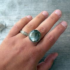 Labradorite ring | My first successfully completed project f… | Flickr