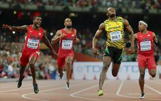 Usain Bolt Holds Off Justin Gatlin to Win World 100-Meter Title - The New York Times