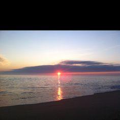 Cisco beach sunset. Nantucket island