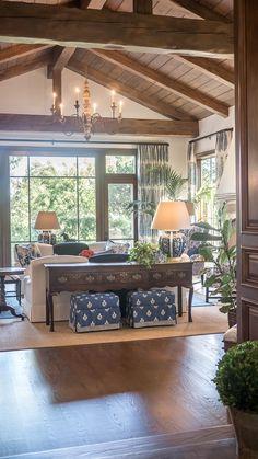 56 gorgeous farmhouse living room design decor ideas home 48 Coastal Living Rooms, Home Living Room, Living Room Designs, Living Room Decor, Living Spaces, Small Living, Modern Living, Living Area, Hamptons Living Room