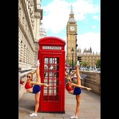 Rybka Twins In London England Gymnastics Moves, Gymnastics Flexibility, Dance Photos, Dance Pictures, Flexible Yoga Poses, Tumblr Ballet, Acro Dance, Yoga Poses For Two, Dance Moms Girls