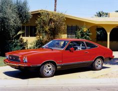 Mustang Through the Years: 1974 Mustang II Mach 1