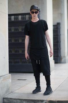 \ black clothing