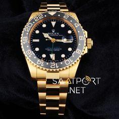 Rolex Submariner GMT Otomatik Gold