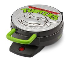 Nickelodeon NTWM-43 Teenage Mutant Ninja Turtles Round Waffle Maker *** This is an Amazon Affiliate link. Click image for more details.