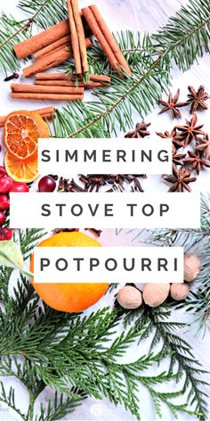 Make your home smell like Christmas with this stovetop potpourri made with cedar, cranberries, oranges, cinnamon, nutmeg and more. Free printable tag for homemade gift ideas.
