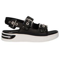 zapatos geox sandalias negras precios venta