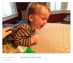 Reasons My Son is Crying - funniest tumblr! So cute.