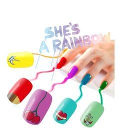 Un arcoiris de color