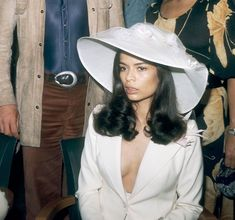 Whistles Muse: former-actress Bianca Jagger is one of the unsung style icons of the and Bianca Jagger, Charlotte Rampling, Twiggy, Alexa Chung, Elsa Peretti, Carolina Herrera, Stage Outfit, Karl Lagerfeld, 70s Fashion