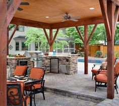 Selecting the right materials and appliances is clearly the most important part of planning your outdoor kitchen.