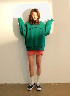 Best Dressed Loose Sweatshirt