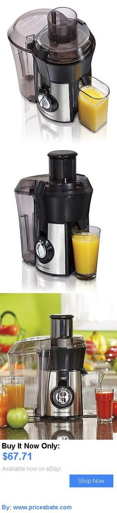 Small Kitchen Appliances: Hamilton Beach 67608A Big Mouth Juice Extractor, Stainless Steel Electric Juicer BUY IT NOW ONLY: $67.71 #priceabateSmallKitchenAppliances OR #priceabate