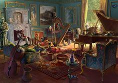 Gamasutra: Junxue Li's Blog - The making of a Hidden Object Game: 2D background art