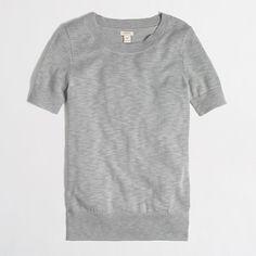 Factory short-sleeve sweater