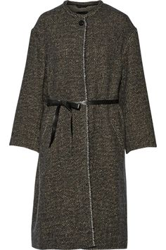 ISABEL MARANT Easton belted tweed coat $438.75 http://www.theoutnet.com/products/627444