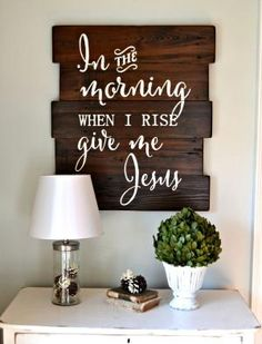 In the morning when I rise give me Jesus by roseann