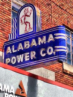 Great Neon Power Company Sign! Reddy Kilowatt!!