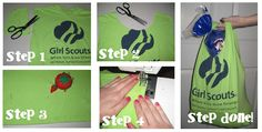 making your own tote bags out of recycled t-shirts