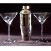 Shop for Engraved 3 Piece Martini Metal Shaker Set. Checkout our top quality Personalized Engraved Martini Metal Shaker Set at affordable price. Margarita Glasses, Whiskey Glasses, Monogram Initials, Wine Decanter, Custom Engraving, Glass Bottles, Martini, 3 Piece, Barware