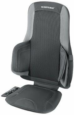 the sharper image msics775h air and shiatsu massage cushion by sharper image http
