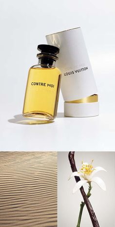 Contre Moi Les Parfums Louis Vuitton - An unexpected vanilla in a fusion of embrace. Louis Vuitton, Vegan Perfume, Beauty Packaging, New Fragrances, Smell Good, Diy Beauty, Perfume Bottles, Cosmetics, Container
