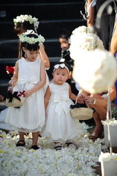 Adorable children! Photography by VISIONARI San Francisco / visionarisf.com, Event Planning by Bali Wedding Paradise / baliweddingparadise.com, Floral Design by dOasis / d-oasisflorist.com
