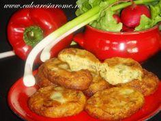 Chiftele din cartofi si ciuperci Shrimp, Meat, Chicken, Food, Essen, Meals, Yemek, Eten, Cubs