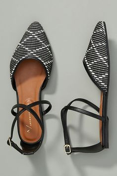 2cee270fa53ec 20 Best Strappy flats images in 2017 | Flat shoes, Beautiful shoes ...