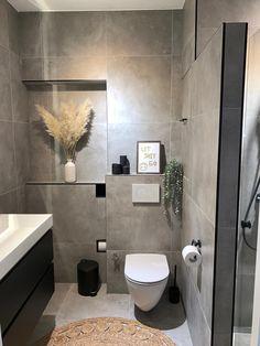 Mini Bad, Interior Design, Bathroom, House, Home Decor, Houses, Guest Toilet, Vanity Basin, Full Bath