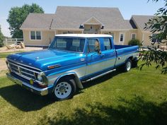 1971 Ford F-350 Crew Cab Special. This truck is a driver with a rebuilt 429 (non…