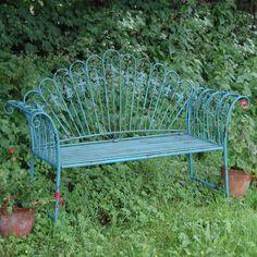 Ascalon Gustav 2 Seater Steel Bench