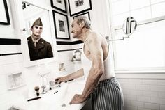 [Pics] Reflections: Portraits of the Elderly as They Once Were