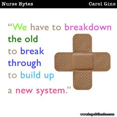 We have to breakdown.... #healthcare #nursing #nurse #nurses #rn #hopefulhealer #nursebytes #carolgino