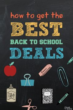 How to get the best back to school deals this year! It's as easy as 1 - 2 - School Shopping, Shopping Hacks, Survival Kit For Teachers, Teacher Survival, School Classroom, Classroom Crafts, Classroom Design, Back To School Deals, Extreme Couponing