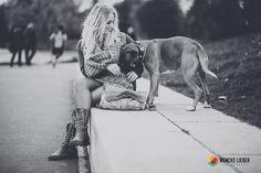 Hund stört beim Fotoshooting in Münster - www.wencke-lieber.com