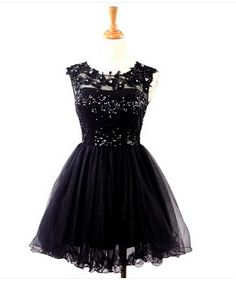 Lovely Short Ball Gown Tulle Prom Dress with