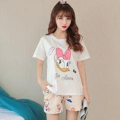 Summer Cotton Sleepwear Women Unicornio Cute Unicorn Pajamas Female Home  Clothes For Women Shorts Suits Clothes 4c91de3f3
