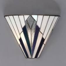 Art deco tiffany ceiling lights lighting pendant lantern for Art deco exterior light fixtures