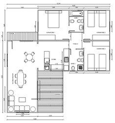 Planos Casas de Madera Prefabricadas