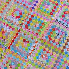 Red Pepper Quilts: Happy New Year and a Scrappy Trip-along