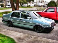 Slammed VW Jetta Mk.2 (Daily Driver) Volkswagen Jetta, Vw Mk1, Wv Car, Porsche, Audi, Vw Scirocco, Truck Games, Cute Cars, Go Kart