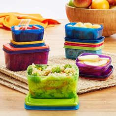 Kids' 14 Piece Leak-Proof Lunch Container Set – Fit & Fresh
