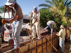 DIY Rammed Earth