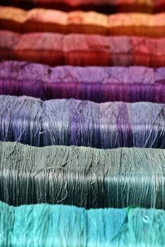 Tanis Fiber Arts silver label - mulberry silk