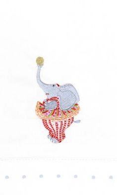 Anika Elephant Tea Towel - 08-31046 - 6.75x11